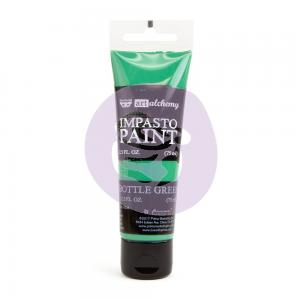 Impasto Paint BOTTLE GREEN - Finnabair