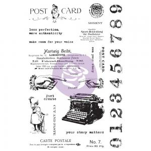 Art Daily CARTE POSTAL STAMP - Finnabair for Prima