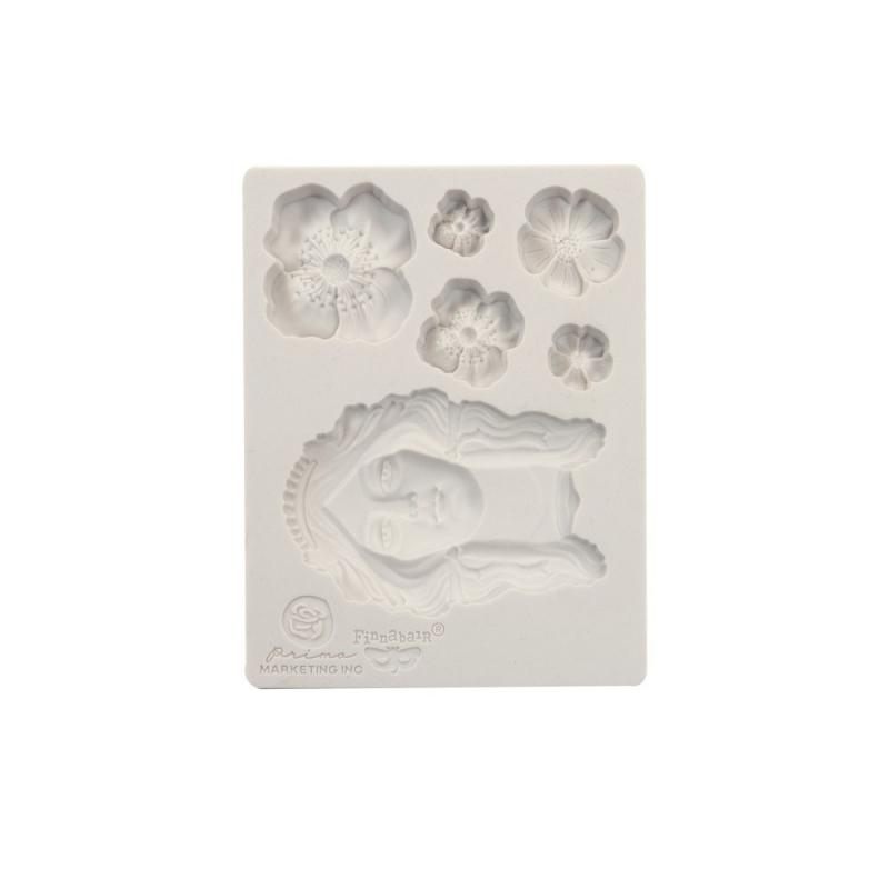 FLOWER QUEEN Mould - Prima Marketing