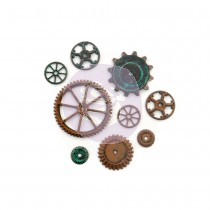 MACHINE PARTS Finnabair Mechanicals Set - Prima Marketing
