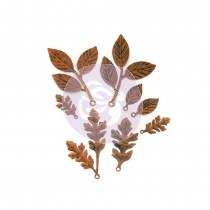 WOODLAND LEAVES Finnabair Mechanicals Set - Prima Marketing