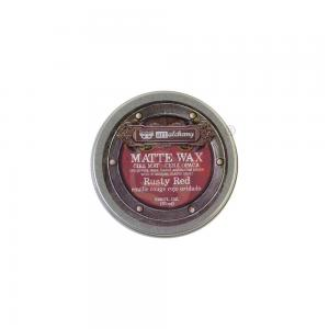 Matt Wax Paste RUSTY RED