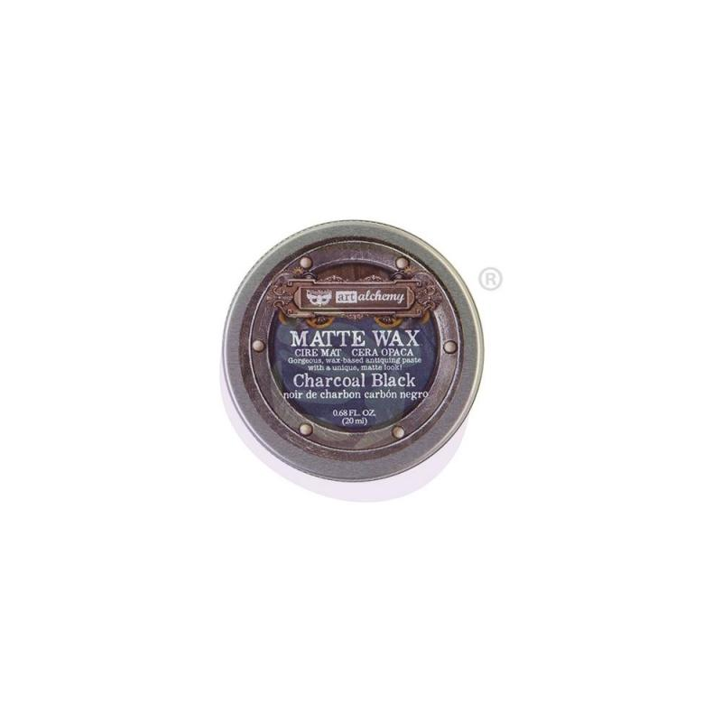 Matt Wax Paste CHARCOAL BLACK