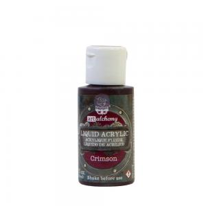 CRIMSON Finnabair Liquid Acrylic Paint
