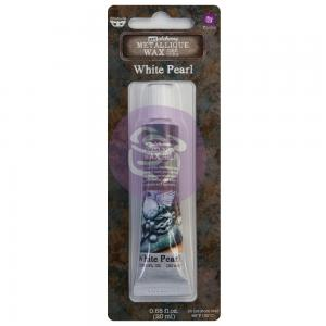 Metallique Wax WHITE PEARL