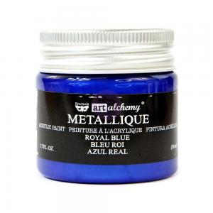 ROYAL BLUE Art Alchemy Metallique Paint - Finnabair
