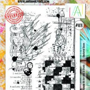 Stamp set A4 #108- AALL & CREATE