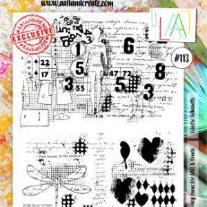 Stamp set A4 #113- AALL & CREATE