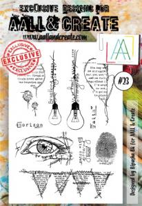 Stamp set A6 #23 - AALL & CREATE