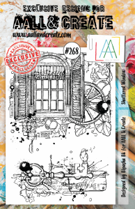 Stamp set A5 #268 - AALL & CREATE