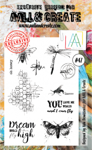 Stamp set A6 #47 - AALL & CREATE