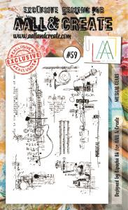 Stamp set A6 #59- AALL & CREATE