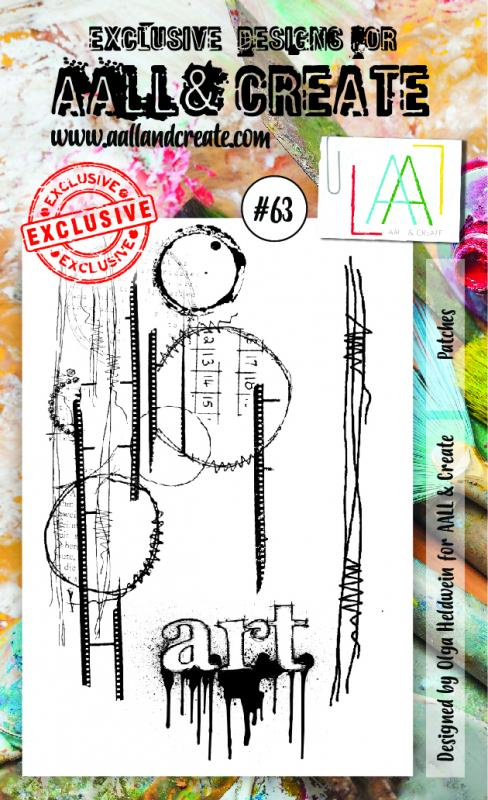 Stamp set A6 #63 - AALL & CREATE