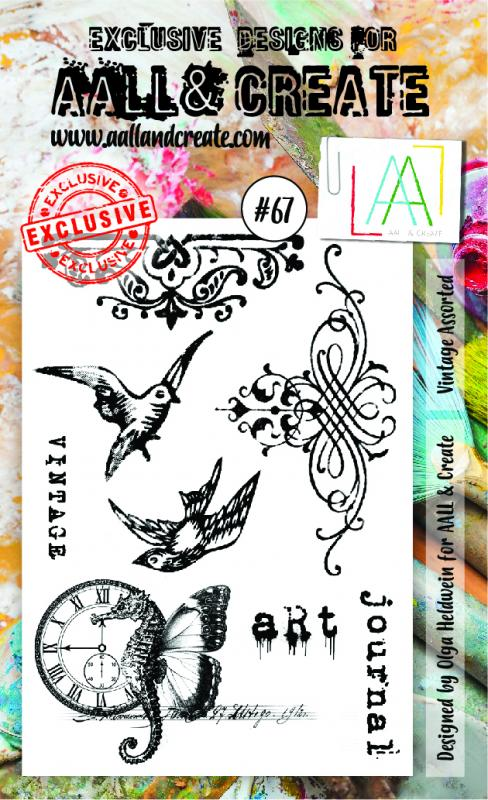 Stamp set A6 #67 - AALL & CREATE