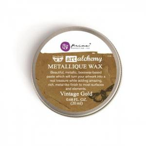Metallique Wax VINTAGE GOLD Finnabair