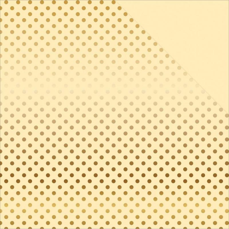 Foiled Dot & Stripe CREAM/GOLD - EchoPark