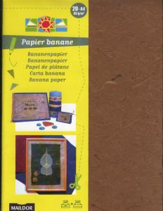 Bananpapper - Brown