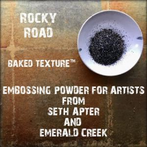 ROCKY ROAD Baked Texture - Seth Apter