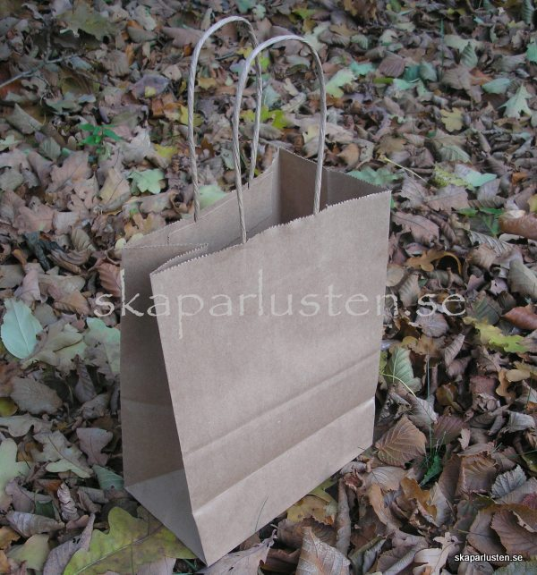 Medium Bag Kraft - Canvas