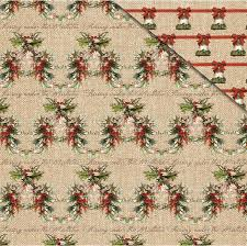 Christamas Holly - 12x12 - Fab Scraps