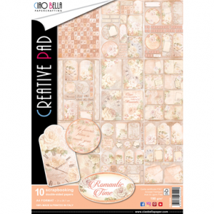 A4  Creative Pad - Romantic Time Collection - Ciao Bella