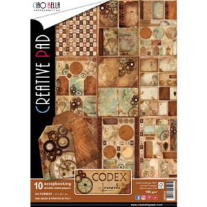 A4  Creative Pad - Codex Leonardo - Ciao Bella