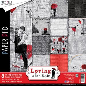 LOVING in The RAIN Collection  Paper Pad - Ciao Bella