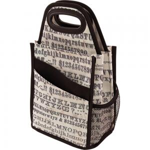 Typography Spinning Craft Tote - Tim Holtz Storage Studios
