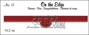 On the Edge  no. 17 With double stitch line - CREAlies