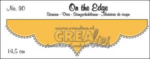 On the Edge  no. 30 With double stitch line - CREAlies