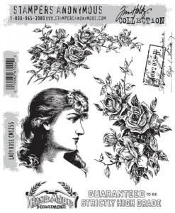 LADY ROSE - Tim Holtz Stampers Anonymous