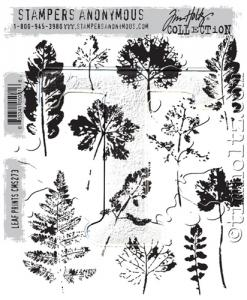 LEAF PRINTS - Tim Holtz Stampers Anonymous