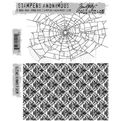 Webs & Damask - Tim Holtz Stampers Anonymous