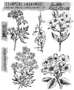 Illustrated Garden - Tim Holtz Stampers Anonymous