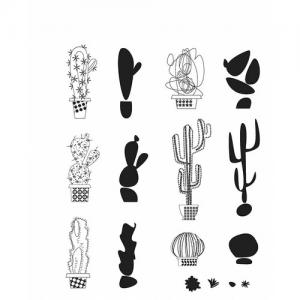 MOD CACTUS - Tim Holtz Stampers Anonymous