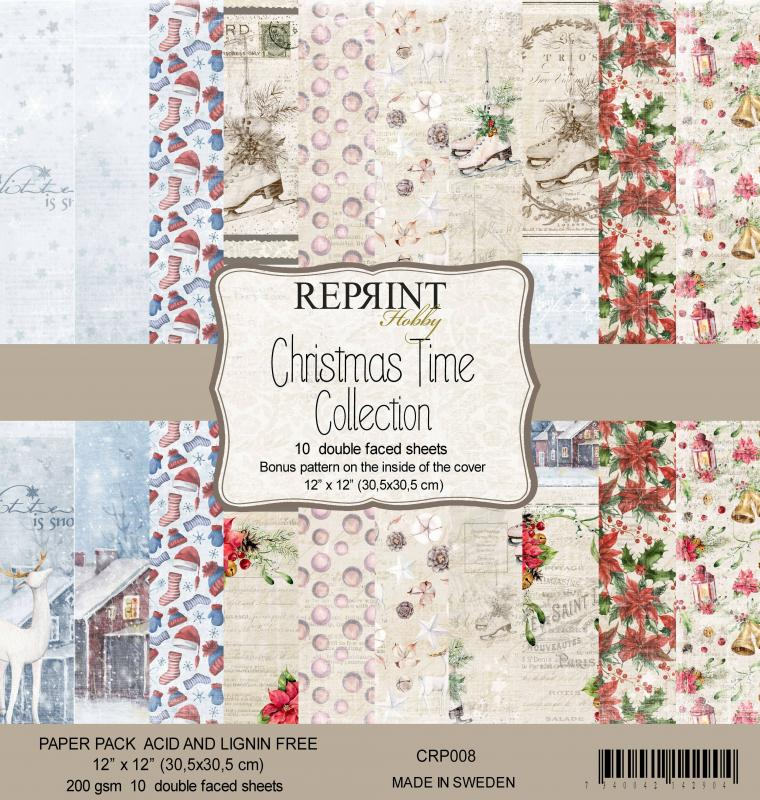Christmas Time 12x12 Collection Pack - Reprint