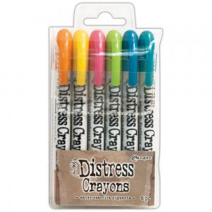 Tim Holtz Distress Crayon Set 1