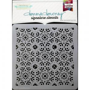 Donna Downey Signature Stencils TANGLED PATTERN