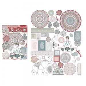 26 SECRETS OF INDIA  Die-Cuts - Stamperia