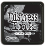 Black Soot - Distress MINI Ink Pad