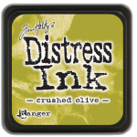Crushed Olive - Distress MINI Ink Pad
