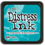 Peacook Feathers - Distress MINI Ink Pad