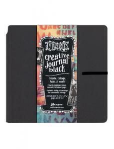 "Creative Journal BLACK - 8""x8"" - Dylusions"