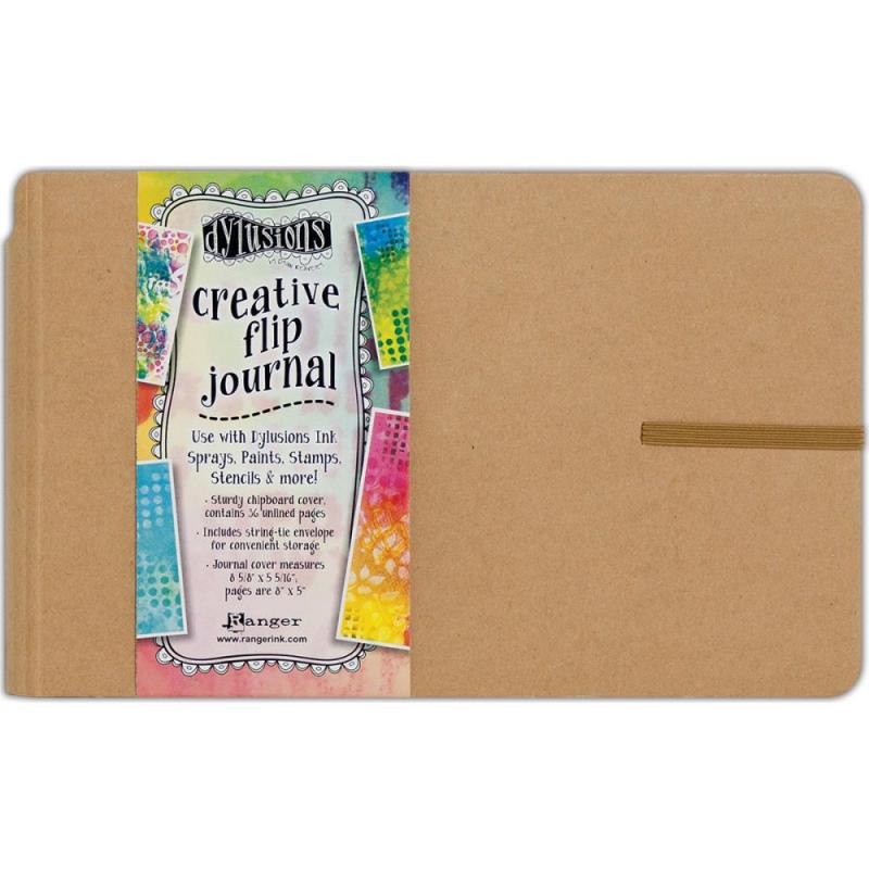 "Creative Flip Journal 8.5""X5.5"" - Dyan Reaveley's Dylusions"