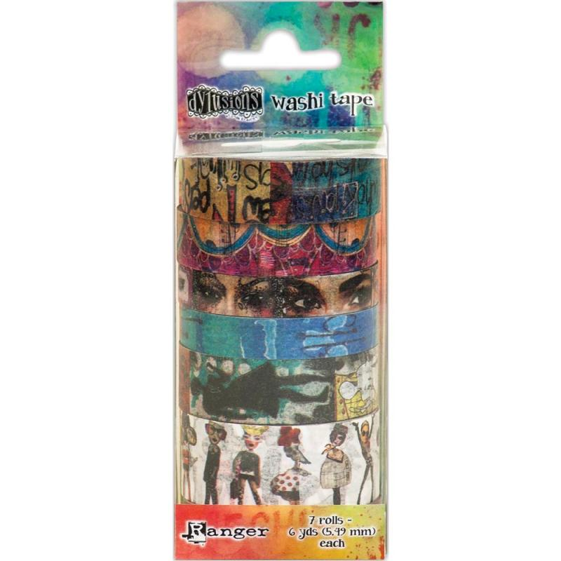 SET 2 Dyan Reaveley's  Washi Tape - Dylusions