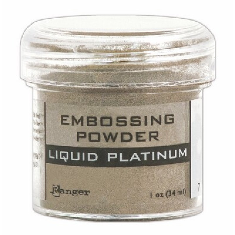 Embossing Powder - LIQUID PLATINUM - Ranger