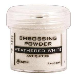 Embossing Powder - WEATHERED WHITE Antiquities - Ranger