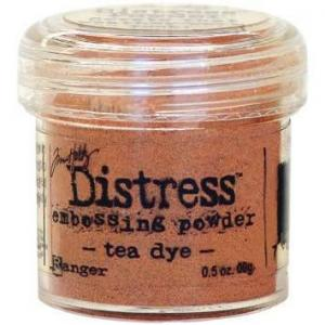 Tea Dye  - Distress Embossing Powder -Ranger