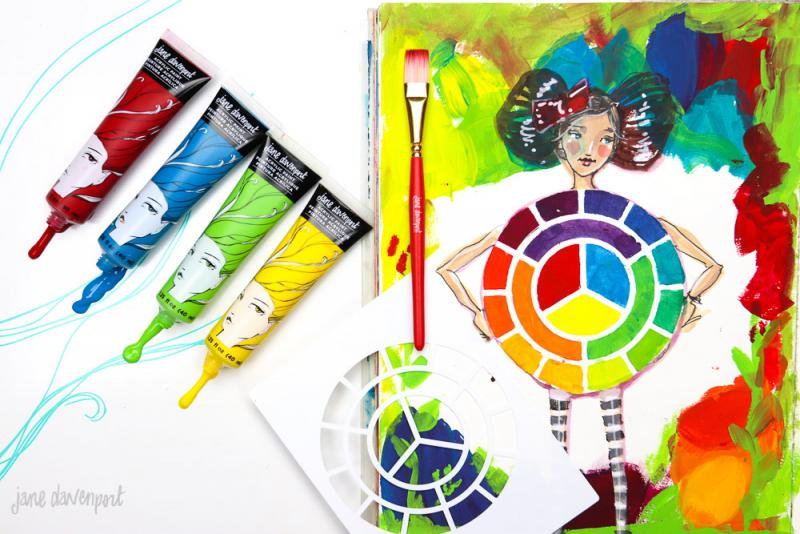 Paint Kit – Bright Primary - Jane Davenport