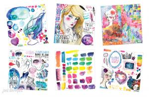 JD MM  NEW Collage Papers